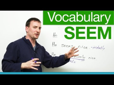 Basic English Vocabulary – SEEM