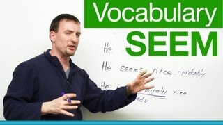 Basic English Vocabulary - SEEM