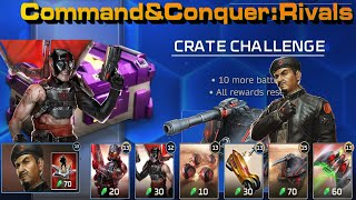 C&C Rivals, Crate Challenge with Fanatic Agro!