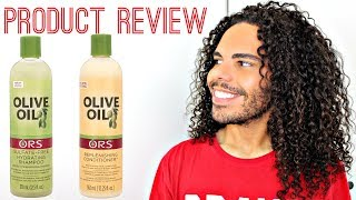 Dry Hair Goodbye ORS Olive Oil Shampoo & Conditioner Product Review