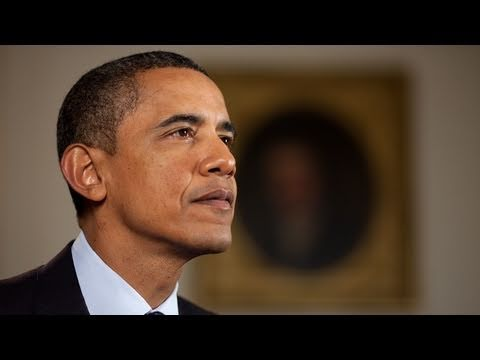 """""""Before We are Democrats or Republicans, We are Americans,"""" President Obama."""