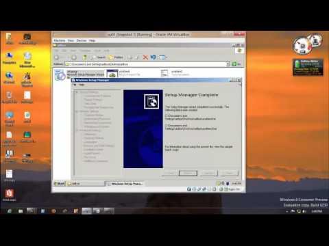 Unattended  installation of xp,windows 7 & s2k8 in hindi by aditya gaur