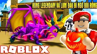 ROBLOX   Mở Rồng Huyền Thoại Và Đi Lụm Đầu Bí Ngô Đổi Rồng VIP   Dragon Keeper   Vamy Trần
