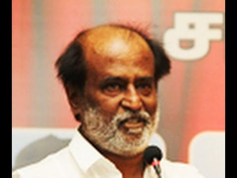 Iam not Shivaji or Kamal. So I'll remain as a hero: Rajini
