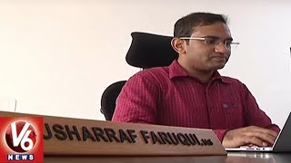GHMC IAS Officer Musharraf Farooqi Rides Bicycle To Curb Vehicular Pollution In Hyderabad