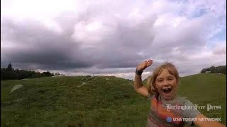 9-year-old kid takes mom on 300-mile hike