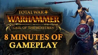 Total War: Warhammer Beastmen Gameplay - Icons of Vilification Quest Battle