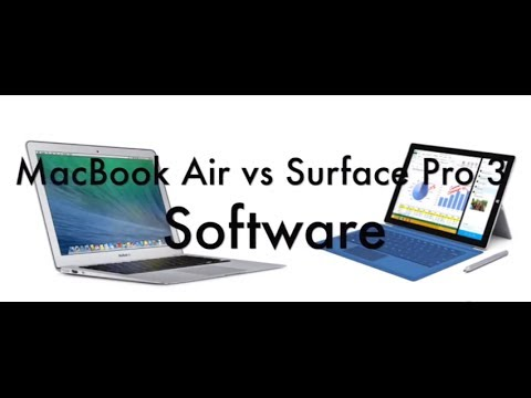 Hands on: Surface Pro 3 vs MacBook Air