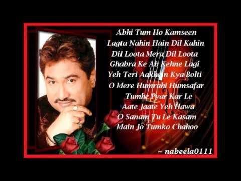 Kumar Sanu Rare Romantic Songs Juke Box ( Click On The Songs ) video