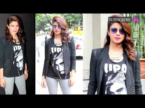 Priyanka Chopra and Darshan Kumar promote Mary Kom through interaction with fans