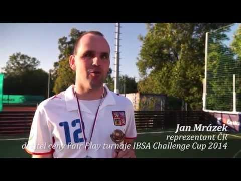 ZELENÝ ŽIVOT: Reprezentace ČR vybojovala stříbrné medaile na turnaji nevidomých fotbalistů IBSA