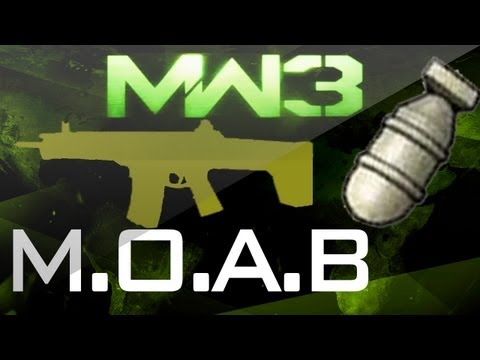 MW3 MOAB - GOLD ACR MOAB!!