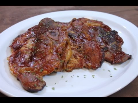 Oven Baked Barbecue Pork Chops - Easy Recipe - I Heart Recipes