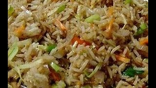 How to prepare Spice Vegetable Fried Rice-  Indian recipes,chicken,non vegetarian,funny hot recipe