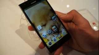 Huawei Ascend P2: Primeras impresiones