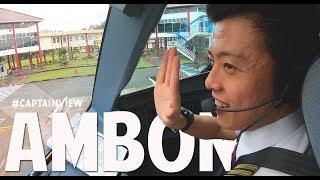 ( CAPT VIEW ) Airbus A320 Pattimura Airport - by Vincent Raditya ( BATIK AIR ) - Cockpit Video