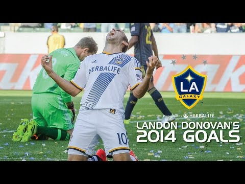 WATCH: All of LANDON DONOVAN'S 2014 Goals