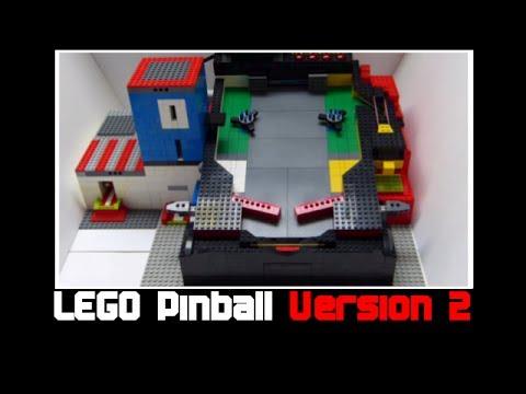 LEGO + ARDUINO PINBALL MACHINE V4 hcdin.ru