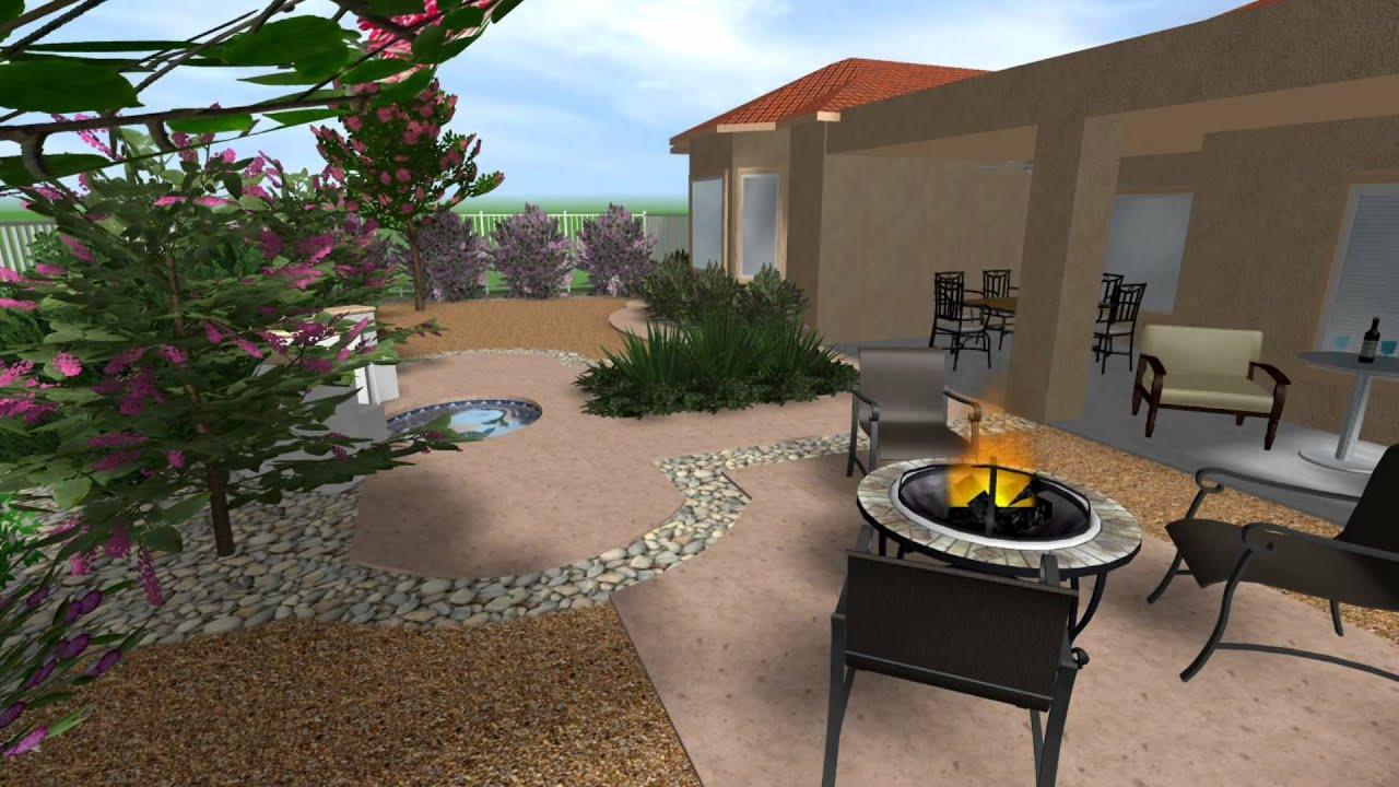 Green guru landscaping las vegas landscape design in for Las vegas stone yards