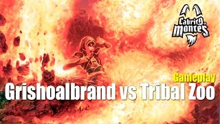 Grishoalbrand vs Tribal Zoo - 5 Color Good Stuff (Modern) - Modern League Round 3