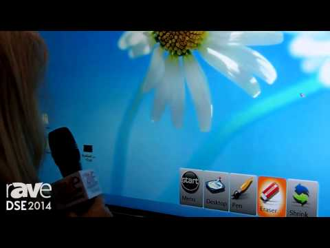 DSE 2014: ViewSonic Demos 84-Inch Interactive Whiteboard Panel With 4K, Six-Point Touch