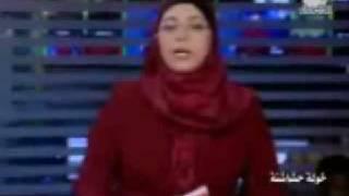 مذيعة قناة الشروق لم تتمالك نفسها من البكاء