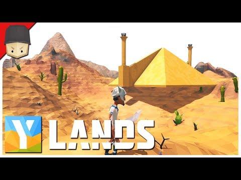 YLANDS - A Pyramid?! : Ep.03 (Survival/Crafting/Exploration/Sandbox Game)
