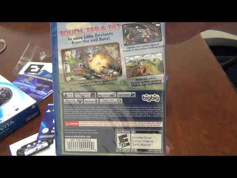 PSVita First Edition Bundle Unboxing