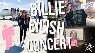 BILLIE EILISH CONCERT VLOG!! // WHEN WE ALL FALL ASLEEP TOUR