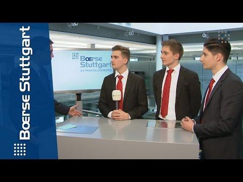 Planspiel Börse 2015: Das Azubi-Siegerteam