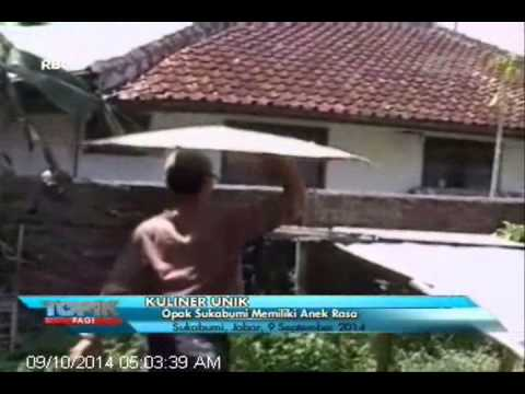 [ANTV] TOPIK Kuliner, Renyahnya Opak Sukabumi