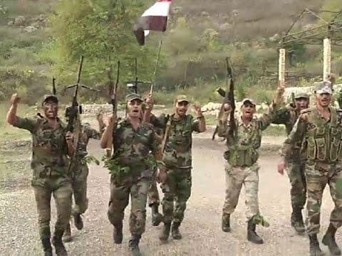 Кадры подготовки сирийского спецназа на военной базе в Латакии