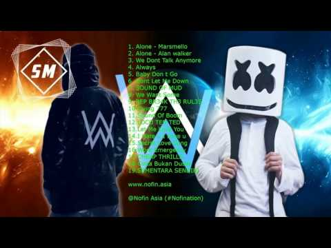 Nonstop Alan Walker VS  Marshmello - Alone Remix -➤ Best BreakBeat Mix- Nhạc EDM Cực Mạnh Hay Nhất