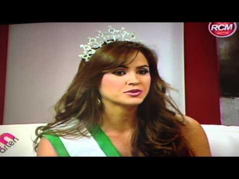 ANA LORENA IBAÑEZ MISS EARTH PANAMA 2012 EN UN TOQUE DE MUJER RCM