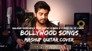 3 Bollywood Songs Mashup on Guitar by Ravi Zharotia | Chordsguru |
