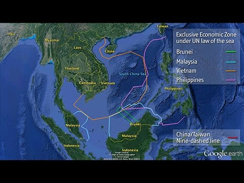 Videographic: China's territorial disputes