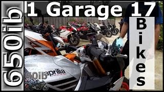 32-Year-Old with 17 Motorcycles!