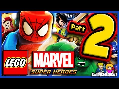 Lego Marvel Super Heroes Walkthrough Part 2 Times Square Off