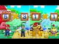 Super Mario Party - All Brainy Minigames