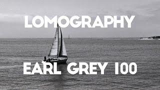 Lomography Earl Grey 100 | Santa Cruz Wharf