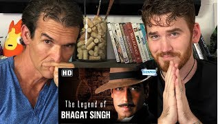 THE LEGEND OF BHAGAT SINGH Trailer REACTION!!