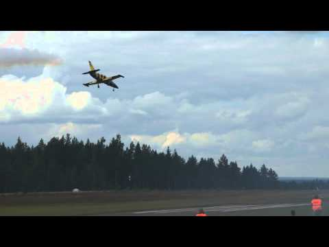Baltic Bees Jet Team Jämi fly in 2011 osa 2