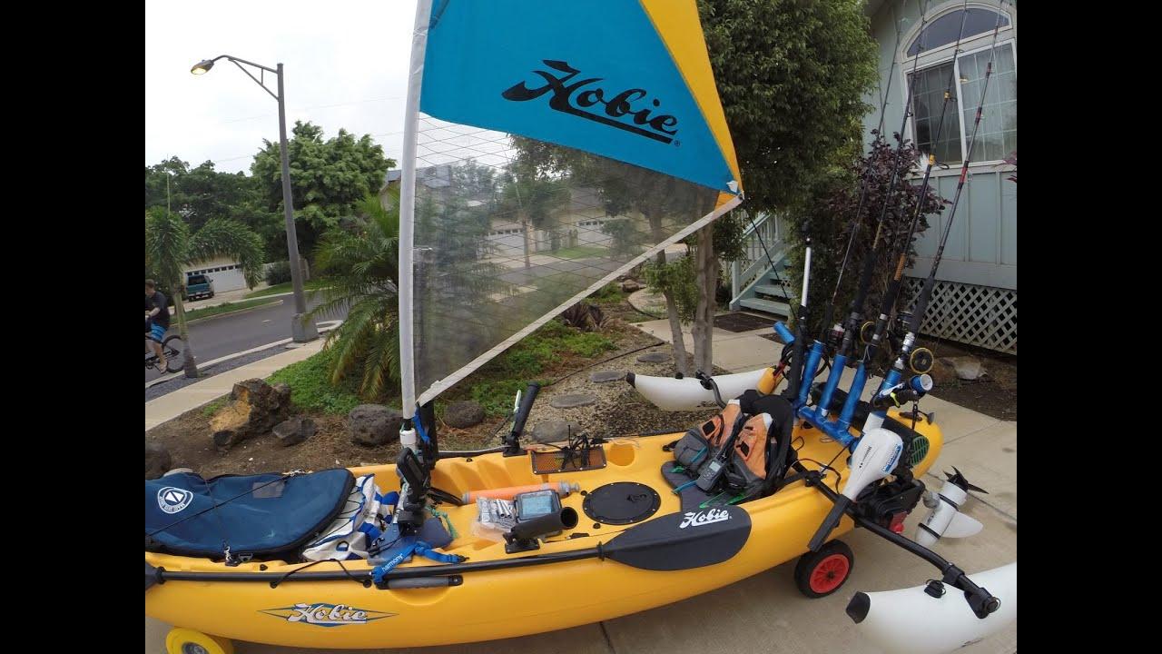 ultimate ocean kayak fishing setup