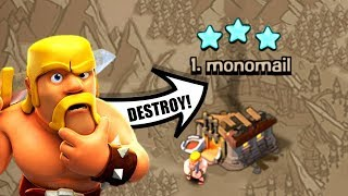 BEST 3 STAR STRATEGY!?......OR NOT!? - ATTACKING THE TOP PLAYER IN WAR! - Clash Of Clans