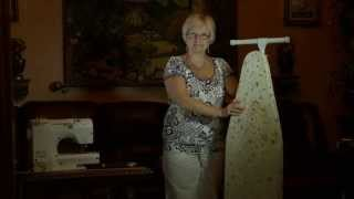 First Steps Sewing Projects - Making Ironing Board Cover