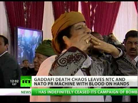 Guts, No Glory: Gaddafi death leaves blood on hands of NATO PR machine