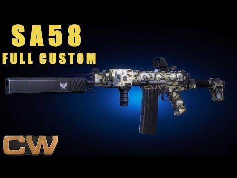 Contract Wars - обзор SA58 (кастом)