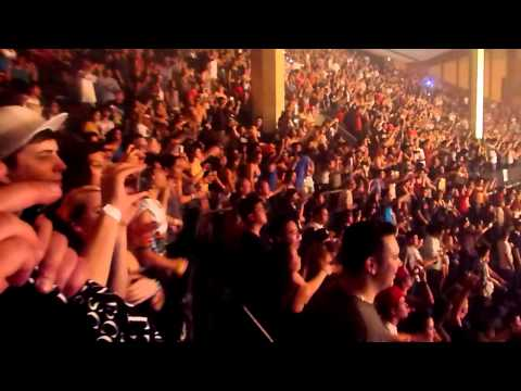 "Swedish House Mafia ""Don't You Worry Child"" with Crowd in San Francisco February 16, 2013"