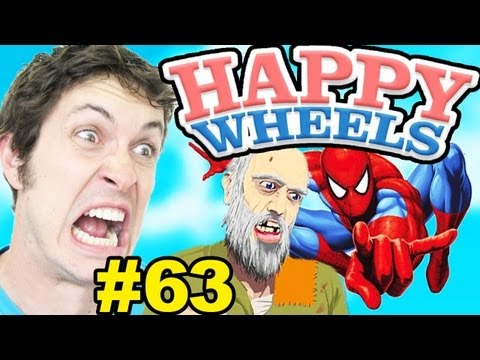 Happy Wheels - SPIDERMAN