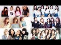 Lagu J-pop vs K-pop (Girlgroups (2018))